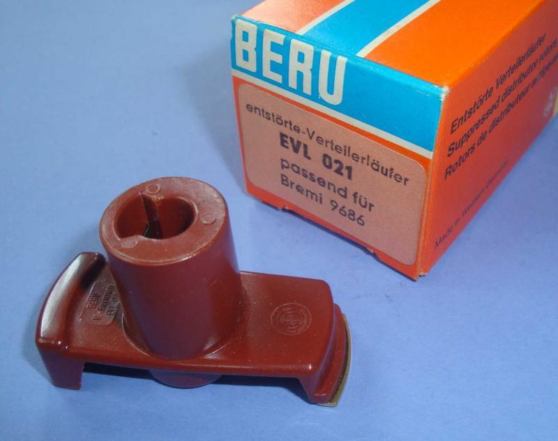 Zündverteilerläufer EVL021 Beru Finger